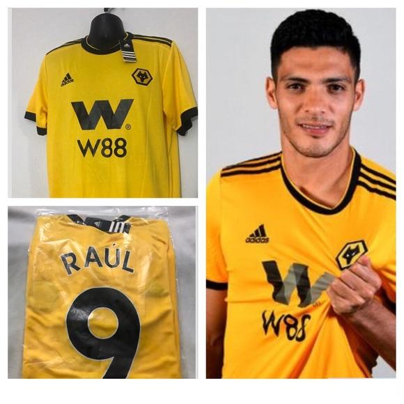 985b3468f9f Raul Jimenez  9 2019 Wolverhampton New Jersey XL